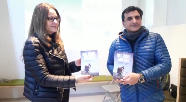 Dhruv Bogra's book Grit Gravel and Gear, 400-day cycle journey launched in Oxford
