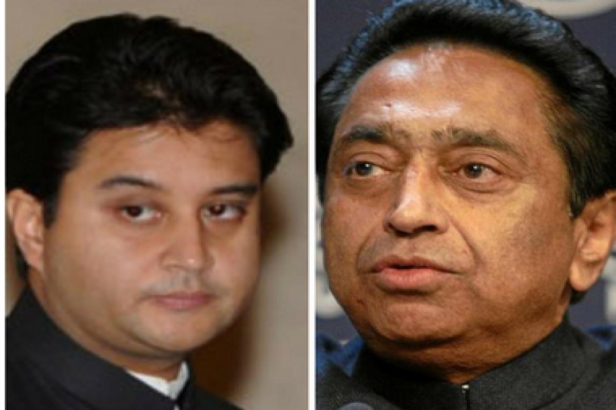 Scindia And Kamalnath
